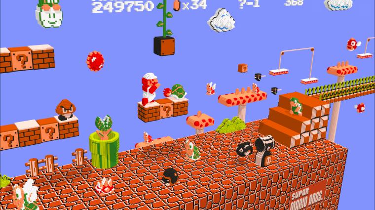 Így néz ki a Super Mario Bros. a HoloLens szemüvegén keresztül bevezetőkép