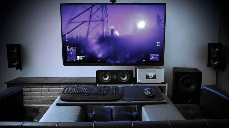 A nappali új központja - játék és kikapcsolódás a PC-vel bevezetőkép