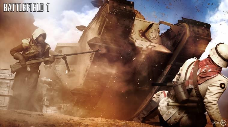 Battlefield 1 - az EA félt, hogy a fiatalok nem ismerik az első világháborút bevezetőkép