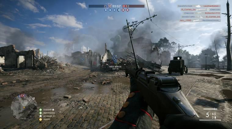 Battlefield 1 - klánrendszer és privát szerverek is jönnek a tavaszi frissítésben bevezetőkép