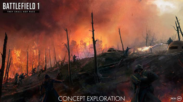 Battlefield 1 - teaser videón a francia DLC bevezetőkép