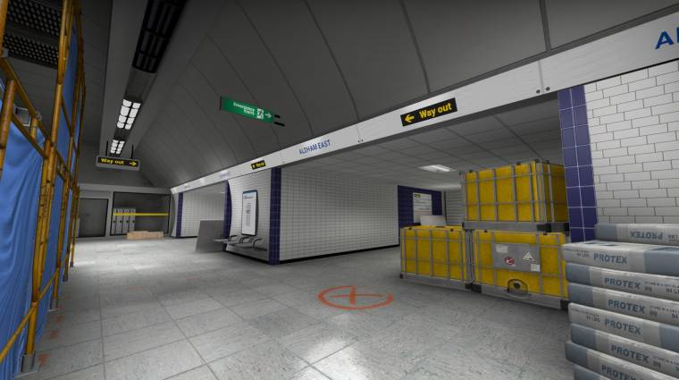 Egy CS:GO modder a londoni metróból csinált Wingman pályát bevezetőkép