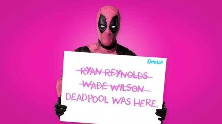 Deadpool rózsaszín jelmezben veszi fel a harcot a rákkal bevezetőkép