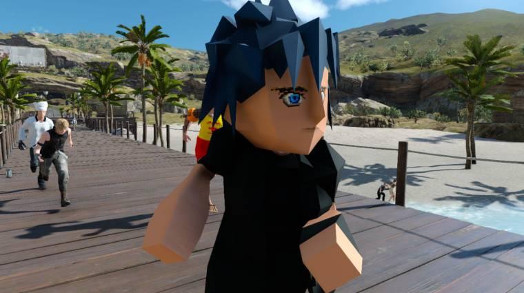 Final Fantasy XV - ez a mod retro kinézetet ad Noctisnak bevezetőkép