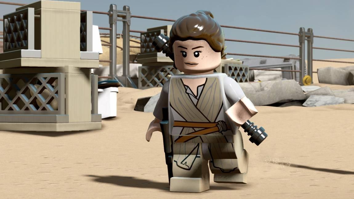 LEGO Star Wars: The Force Awakens - Rey is saját előzetest kapott bevezetőkép