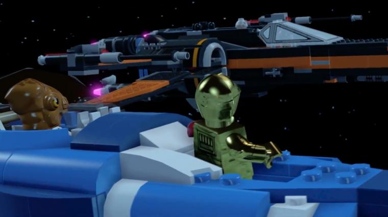 LEGO Star Wars: The Force Awakens - ebben legalább lesz űrharc (videó) bevezetőkép