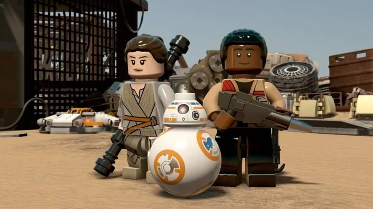 LEGO Star Wars: The Force Awakens - ezt kapjuk a Season Pass-szal bevezetőkép