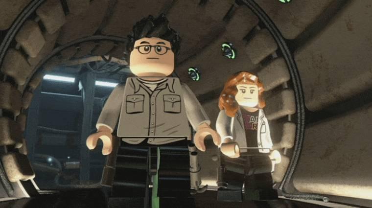 LEGO Star Wars: The Force Awakens - J.J. Abrams is játszható bevezetőkép
