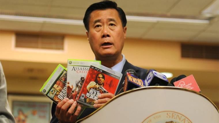 Öt év börtönt kapott az erőszakos játékok ellen kampányoló szenátor bevezetőkép