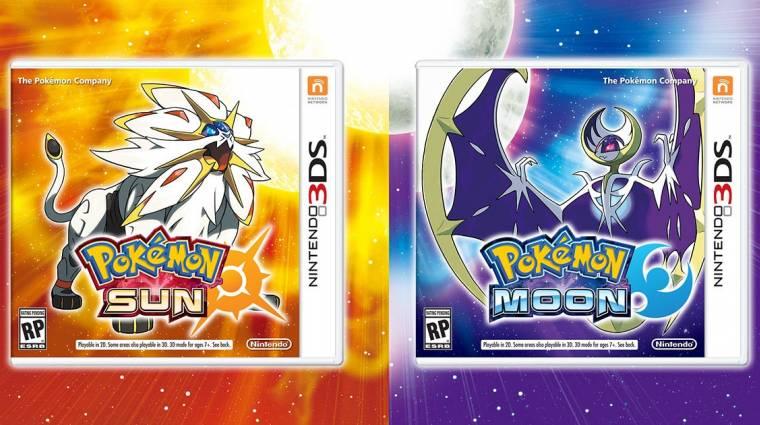Elképesztően rajtolt a Pokémon Sun & Moon bevezetőkép