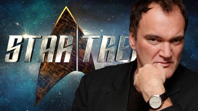 Tarantino Star Trek filmje olyan lesz, mint a Ponyvaregény az űrben bevezetőkép