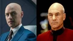 James McAvoy szívesen eljátszaná a fiatal Picard kapitányt kép