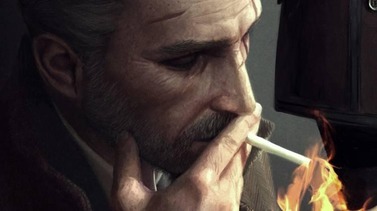 Így lett Geraltból cigiző magánnyomozó bevezetőkép