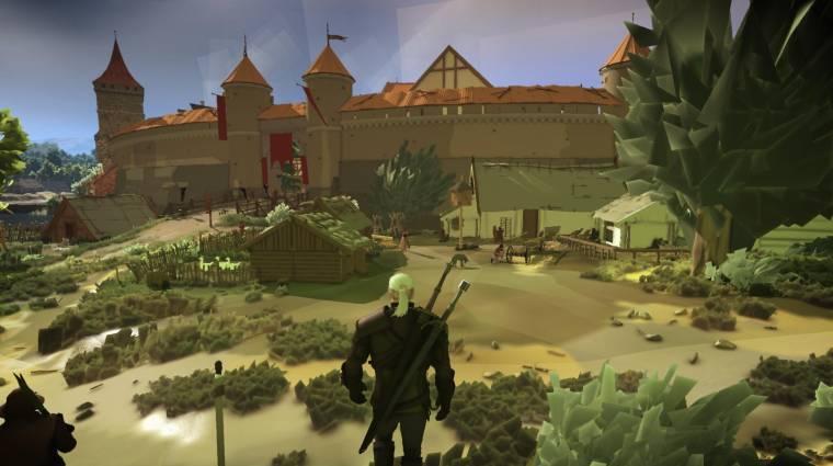 Így nézne ki a Witcher 3 egy 3DS-en bevezetőkép