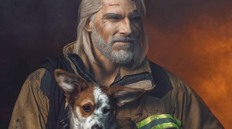 Így nézne ki Geralt hétköznapi munkák közben bevezetőkép