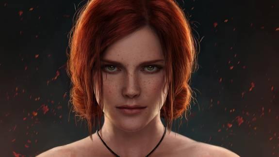 Így nézne ki Triss a Cyberpunk 2077-ben kép