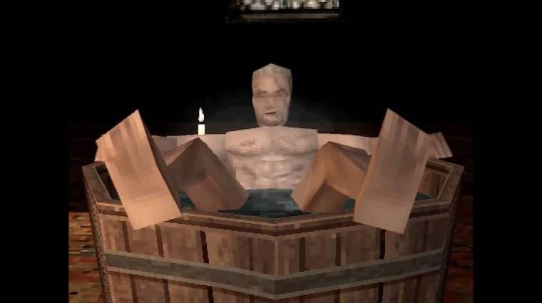 Ilyen lehetett volna a The Witcher 3 PlayStation 1-es játékként bevezetőkép
