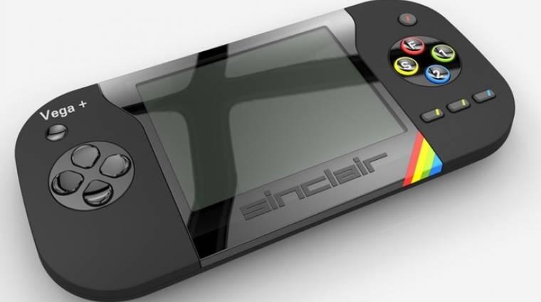 Még idén megjelenik az új, beépített kijelzős ZX Spectrum bevezetőkép