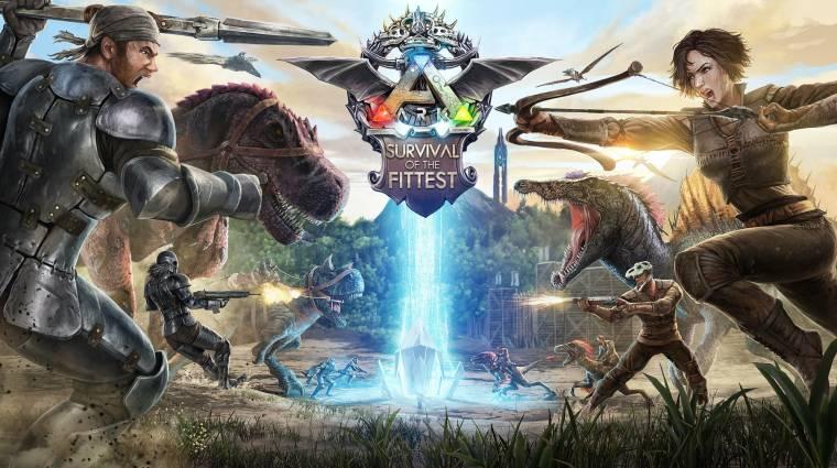 Ark: Survival of the Fittest - nagyon érdekes a Survival Evolved spin-offja bevezetőkép