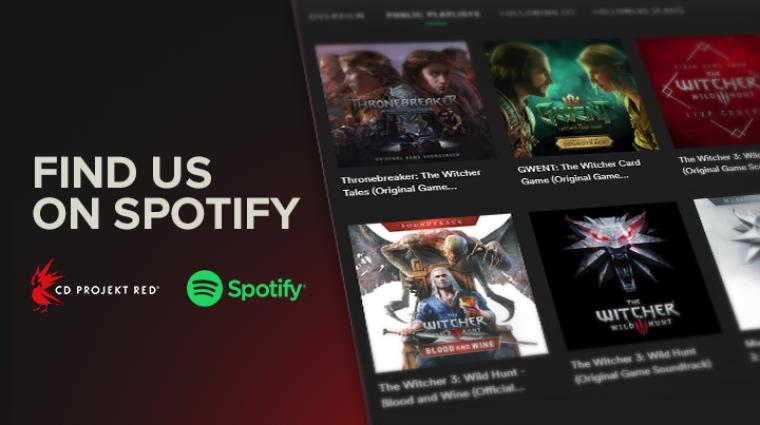 A The Witcher 3 és a Gwent zenéi már a Spotify-on is elérhetőek bevezetőkép