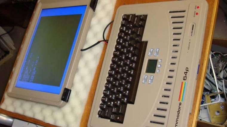 A Commodore 64 laptop az egyik legmenőbb egyedi építésű gép bevezetőkép