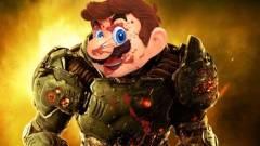 Napi büntetés: a Super Mario Odyssey zenéjével lesz igazán beteg a Doom kép