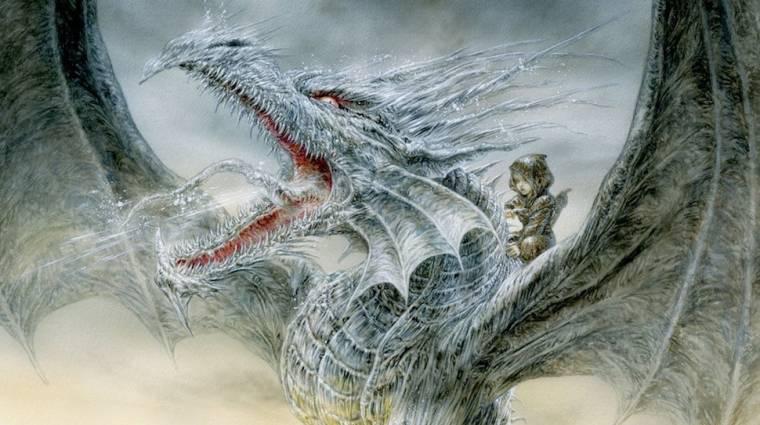 Animációs film készül George R.R. Martin Jégsárkányából kép