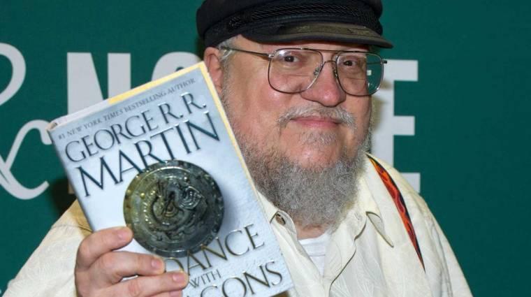 George R.R. Martinnak újabb 8 számjegynyi oka van arra, hogy ne az utolsó Trónok harca-könyveket írja bevezetőkép