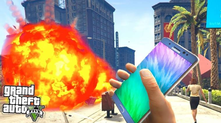 A Samsung nem örül a Galaxy Note 7-es GTA V modnak bevezetőkép