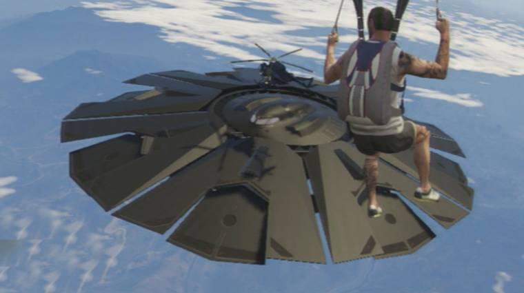 Grand Theft Auto V - új infók vezetnek a játékbeli UFO-k nyomára bevezetőkép
