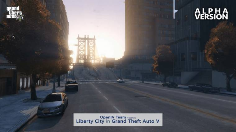 Grand Theft Auto V - nem készül tovább a Liberty City mod bevezetőkép
