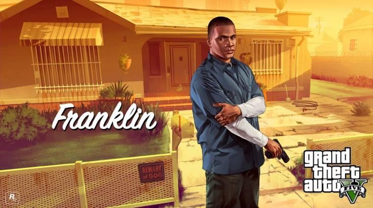 A GTA Online-ban trükkösen be lehet jutni Franklin házába, de nem éri meg bevezetőkép