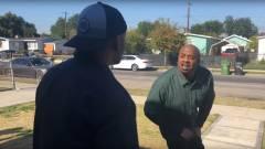 Az eredeti szinkronszínészek is lenyomták a legendás GTA V jelenetet, amiben Lamar oltogatja Franklint kép