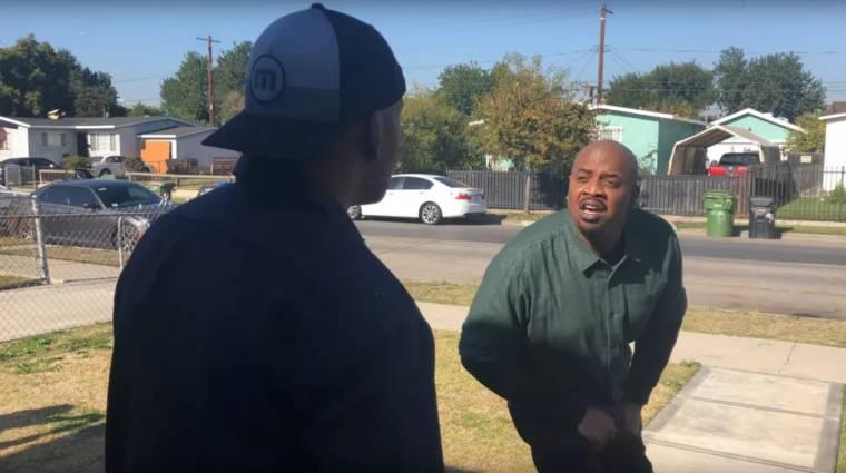 Az eredeti szinkronszínészek is lenyomták a legendás GTA V jelenetet, amiben Lamar oltogatja Franklint bevezetőkép