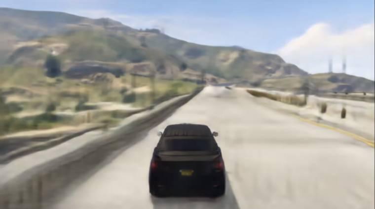 Így fut a GTA 5, ha egy mesterséges intelligencia alkotja újra bevezetőkép