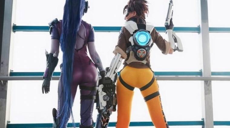 Overwatch - nagyon menő a Widowmaker-Tracer páros cosplaye bevezetőkép