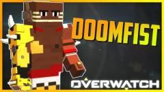 Minecraft - már a kockásított Doomfisttel is játszhatunk kép