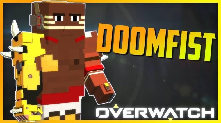 Minecraft - már a kockásított Doomfisttel is játszhatunk bevezetőkép