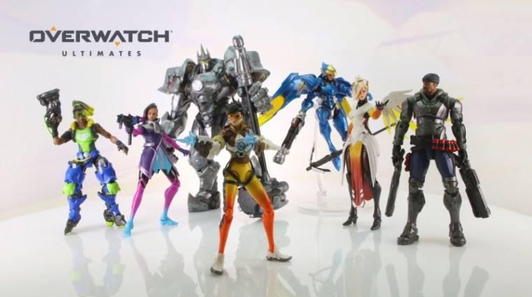 A Hasbro Overwatch figurákkal támad bevezetőkép