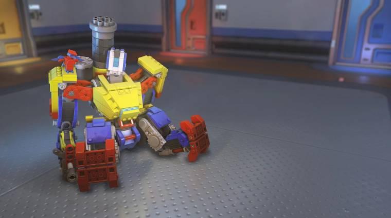 Overwatch - csak pár győzelem választ el a LEGO Bastion skintől bevezetőkép