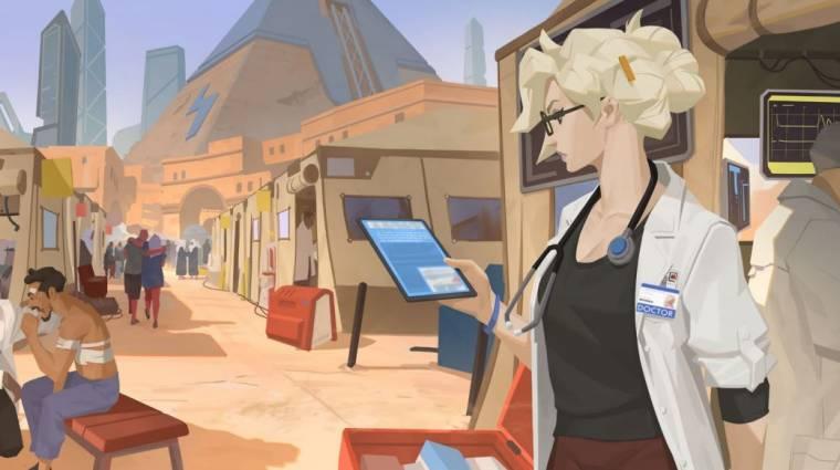 Overwatch - egy hagyományos orvosi szerelés lehet Mercy új skinje bevezetőkép
