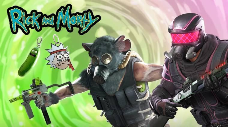 Nincsenek szavak a Rick és Morty témájú Rainbow Six: Siege skinekre bevezetőkép