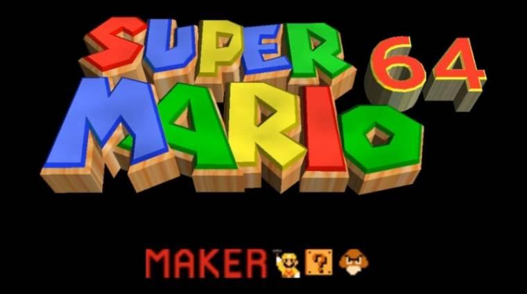 Ha már unod a Super Mario Makert, itt a Super Mario 64 Maker bevezetőkép