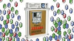 A The Legend of Zelda ezen példánya 261 millió forintért kelt el kép