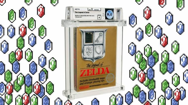 A The Legend of Zelda ezen példánya 261 millió forintért kelt el bevezetőkép