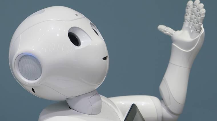 Viszlát, Pepper: a SoftBank befejezte az érző robot gyártását kép