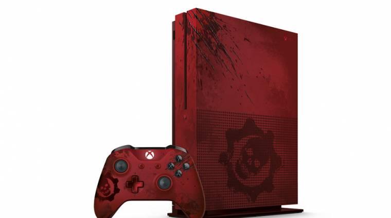 A Gears of War 4-es limitált Xbox One S megjárta a háborút bevezetőkép