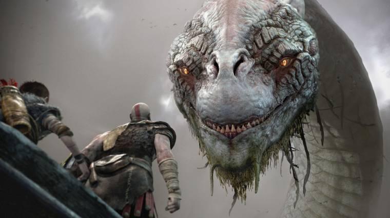 Így fut majd PS5-ön a God of War bevezetőkép