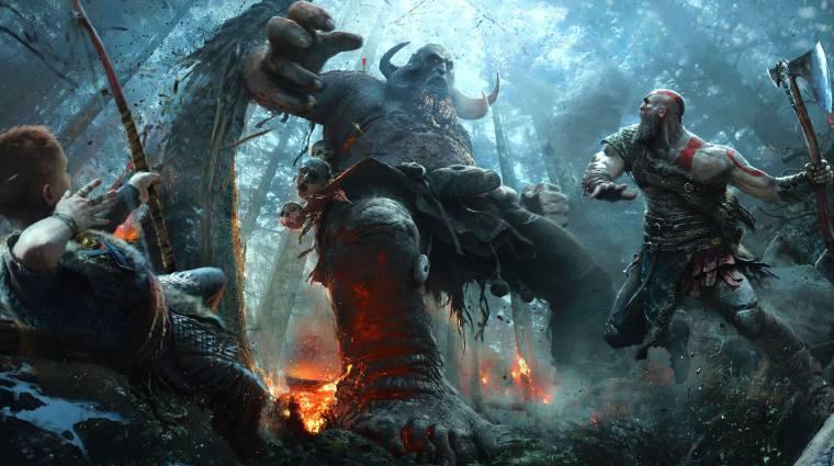 God of War - akár az ősi egyiptomban is játszódhatott volna bevezetőkép