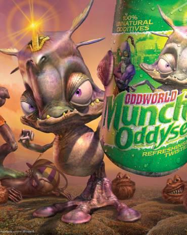 Oddworld: Munch's Oddysee kép